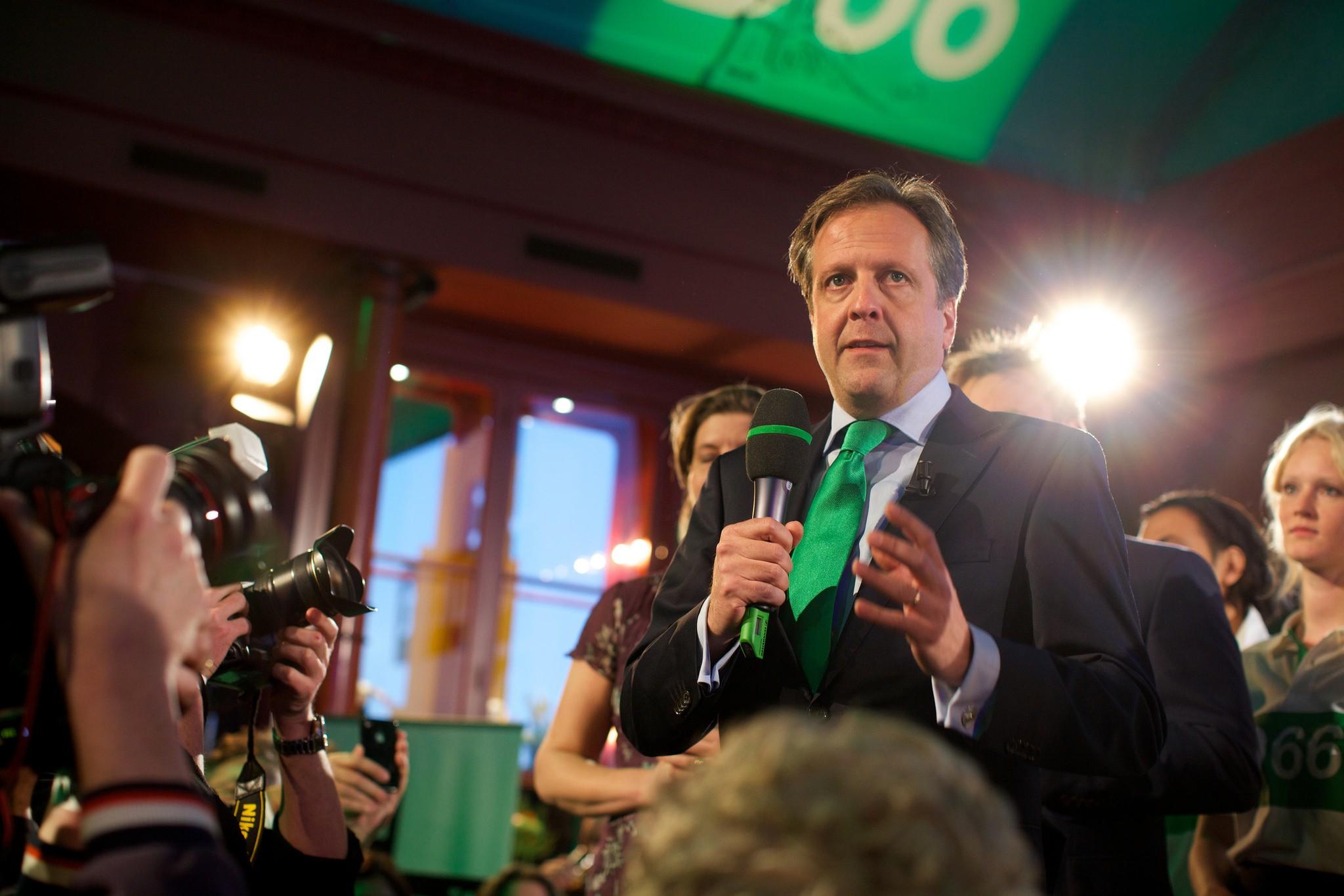 D66-leider Alexander Pechtold lijsttrekker