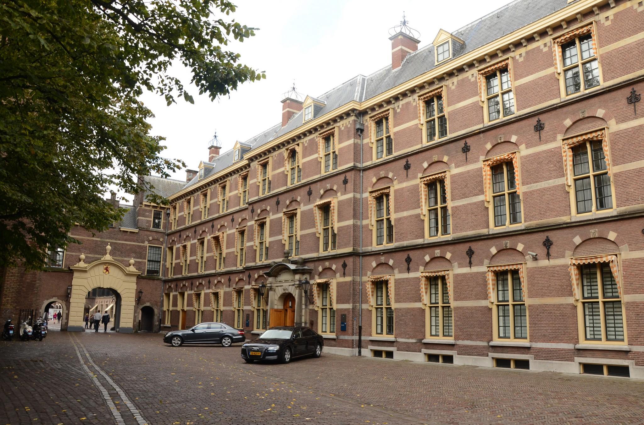 Binnenhof Eerste Kamer Tweede Kamer Den Haag