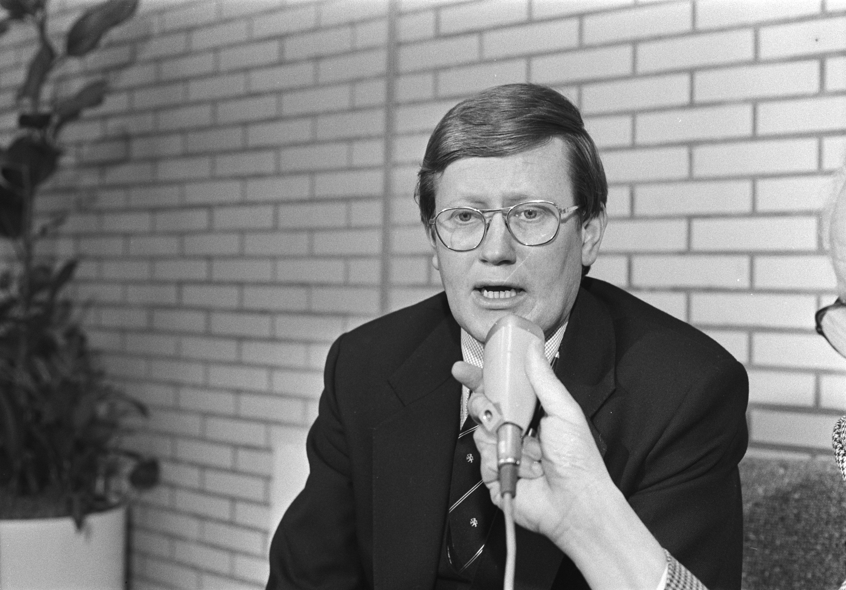 Hans Wiegel vicepremier VVD
