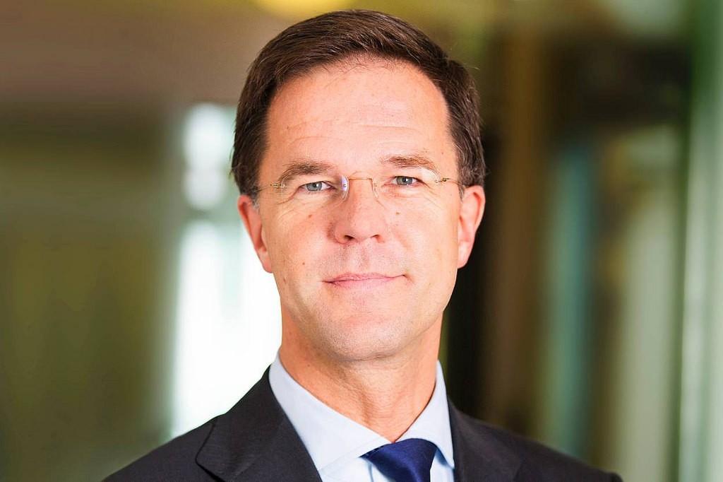 Premier Rutte geeft laatste persconferentie van kabinet Rutte II